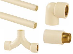 Um dos tipos de tubulações em vários tamanhos e formatos