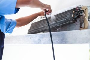 como fazer limpeza do ar condicionado e da tubulação