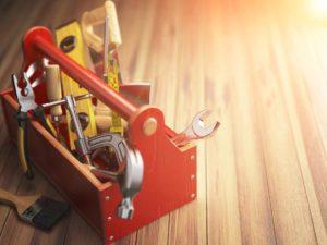 caixa de ferramentas que não podem faltar em casa