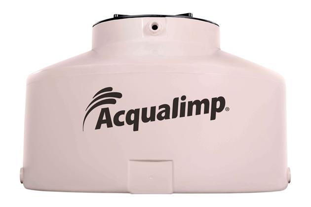 caixa d'água Acqualimp água limpa