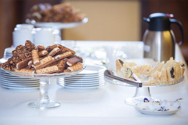 mesa de coffee break