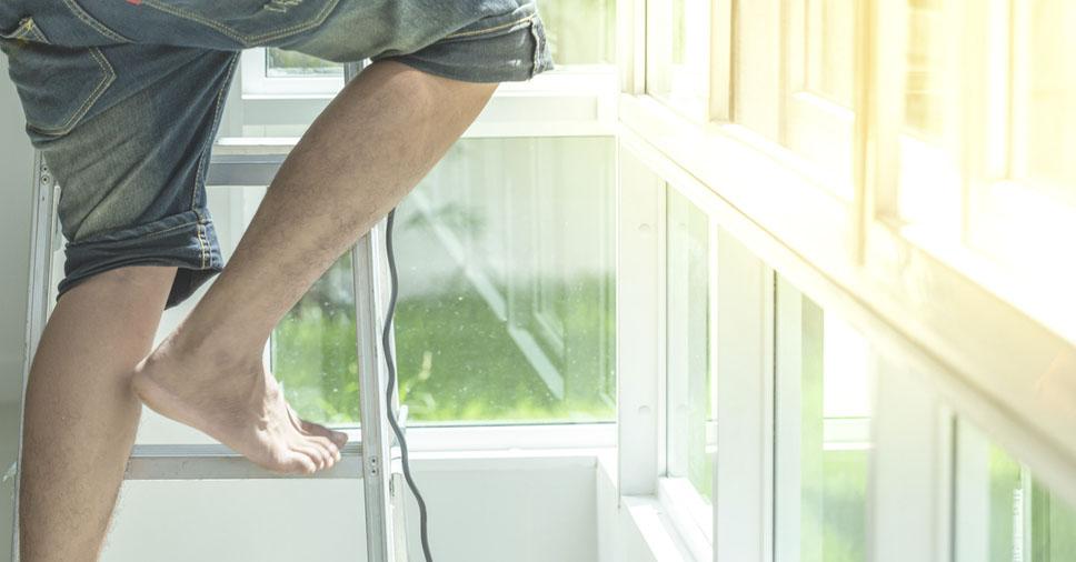 Como usar escada de alumínio? Descubra e evite acidentes em casa!