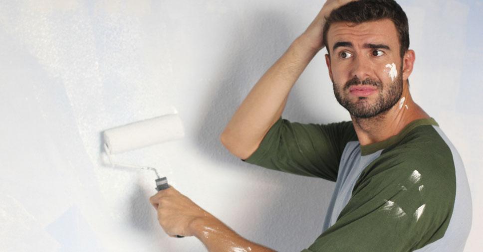 Problemas com bolhas na pintura? Veja como eliminá-las!