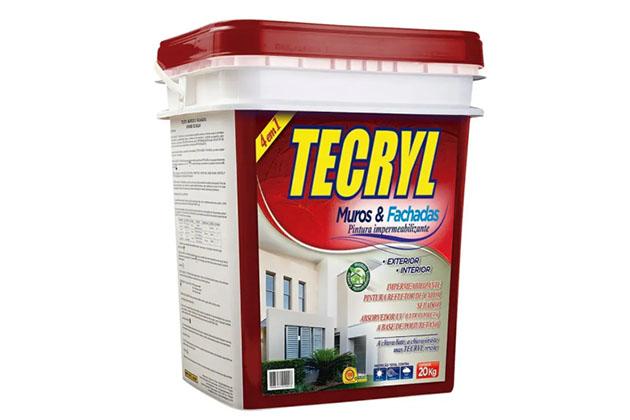 Impermeabilizante Muros e Fachadas 20kg Areia Tecryl