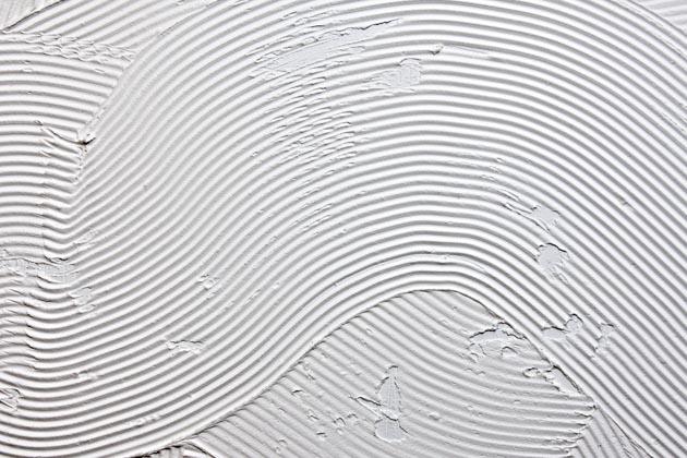 materiais da argamassa branca