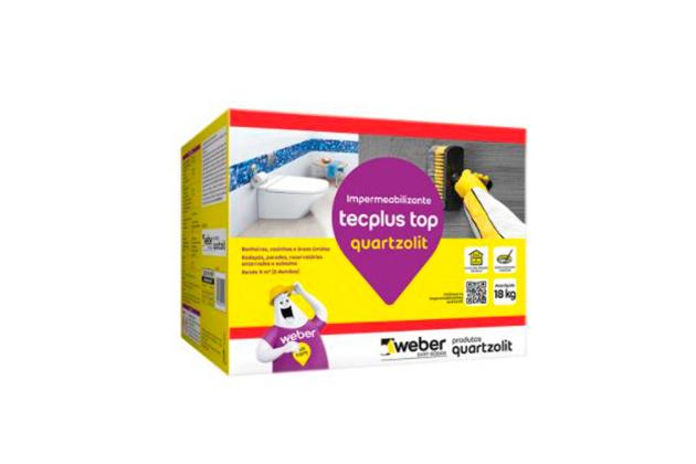 Impermeabilizante tecplus para banheiro completo
