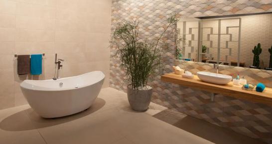 Construir ou reformar: fique de olho nos melhores tipos de pisos e revestimentos para banheiros
