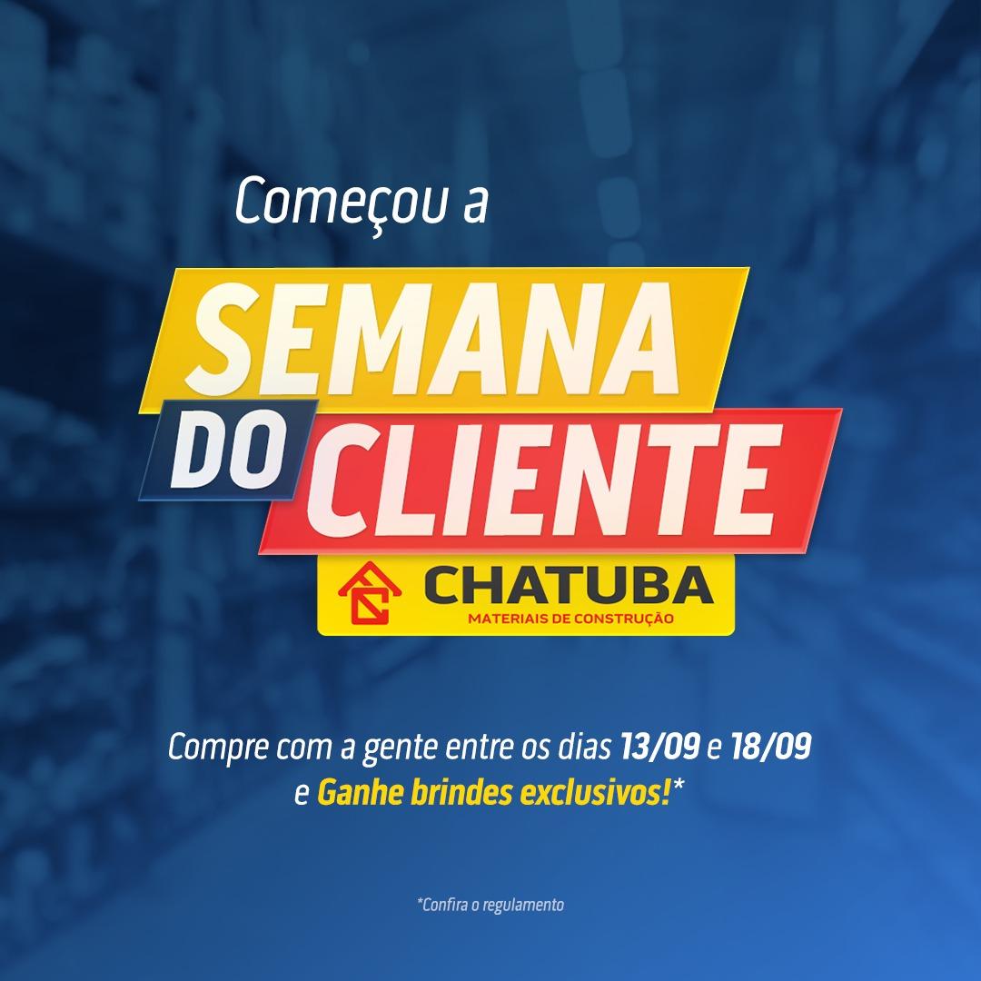 Chatuba celebra Dia do Cliente com uma semana de ofertas e brindes exclusivos!